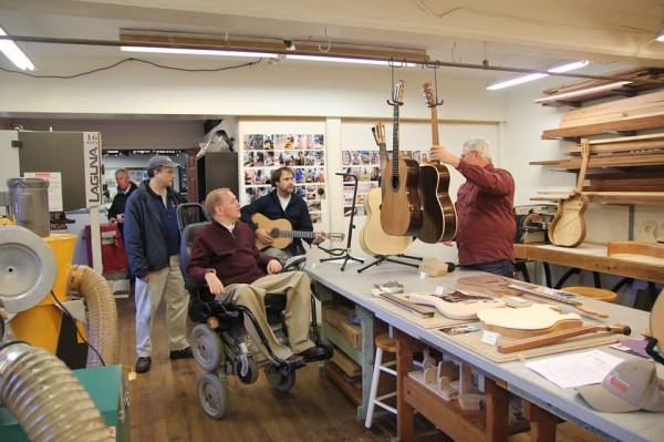 Shady Lea Guitars makes custom string instruments right here in Rhode Island.