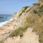 Mohegan Bluffs, Block Island (Photo by Bob Plain)