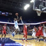 URI gave a great effort against Ohio St. on Saturday before falling to the 4th-ranked team in the country. (Photo by Bob Plain)