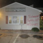 Mosque near URI was vandalized Thursday night