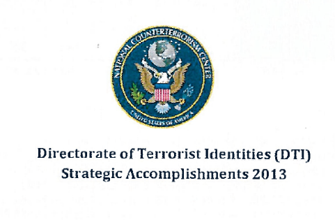an overview of the activities of the national counterterrorism center nctc National counterterrorism planning: who's the national counterterrorism center (nctc) the nctc's ability to integrate counterterrorism activities.