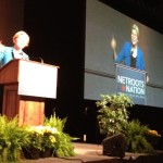 Elizabeth Warren at Netroots Nation in Providence, 2012.