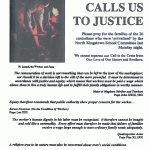 Flyer courtesy of the Ecumenical Students for a Living Wage.