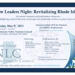 Help NLC revitalize Rhode Island this Thursday