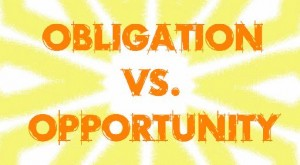 obligation opportunity