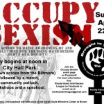 Occupy Sexism Action Fights 'Rape Culture'