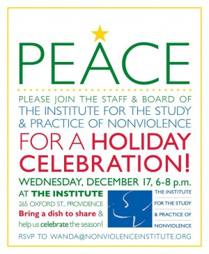 Institute for Study and Practice of Nonviolence Holiday Party