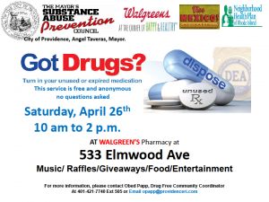 prescription drug buyback
