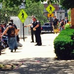 Providence cop pulls gun on man outside Burnside Park