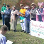 Raging Grannies Protest Forbes, Hinckely Event