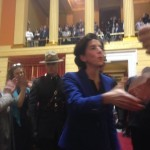 Raimondo meets with students to discuss next commissioner