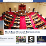 Screen shot of the state House of Representatives Facebook page.