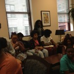 Providence students sit in at Ed Dept., wait for Gist