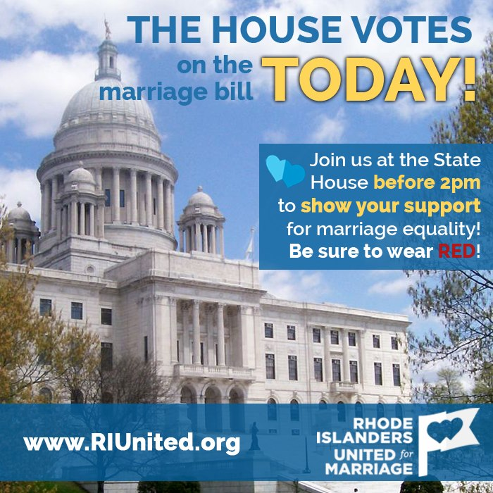 riunited house vote marriage
