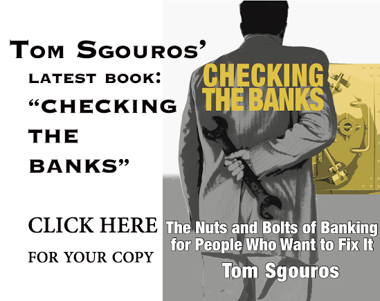 RI Future contributor Tom Sgouros recently wrote this book about fixing the banking system. Click on the image for more information.