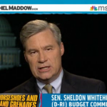 Sheldon to Maddow: debt ceiling damage has begun