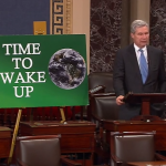US Senate says: 'climate change is real and not a hoax'
