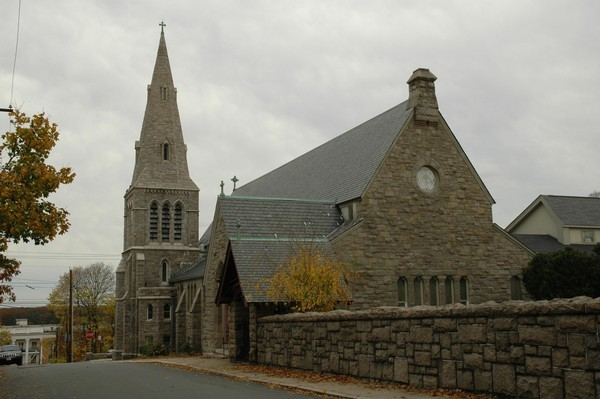 St. Luke's Church in downtown East Greenwich. (Photo courtesy of EG Patch)
