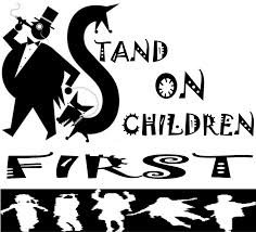 stand on children