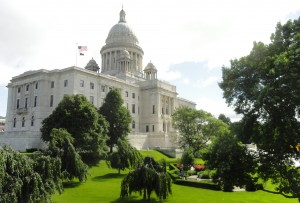 state house lawn