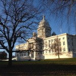 The State House in November.