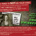 Stenhouse attacks Tanzi, Fogarty with mailers