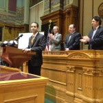 Providence Mayor Angel Taveras delivers the annual State of the City address.