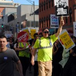 Providence fights for $15; local march part of national day of action