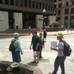 Peace activists educate Providence about Textron's cluster bombs
