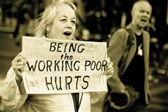 "Woman: ""Being the working poor hurts"""