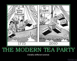 Tea party fail