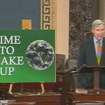 Sheldon Whitehouse pulls climate change advocacy hat trick this week