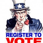 Wednesday: Register to Vote in Burnside Park