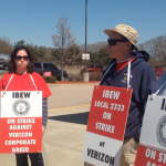 Video: Verizon employees in NK explain the strike